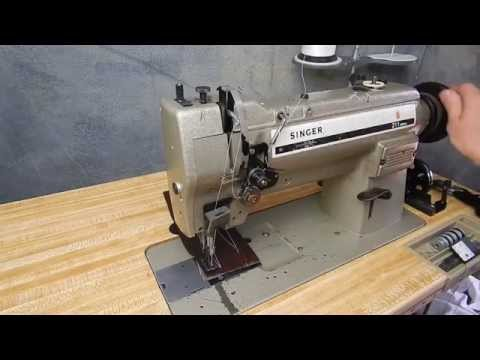 Singer 211U566A Walking Foot Industrial Sewing Machine with Reverse