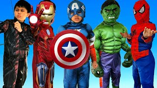 Troy play HIDE AND SEEK and becomes a superhero! TBTFunTV