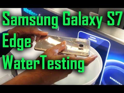 Samsung Galaxy S7 Edge Water Testing!