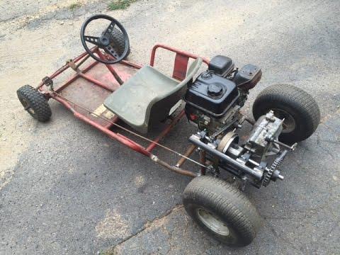 home made shifter kart part 1