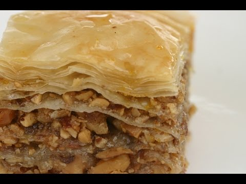 How To Make Baklava - It's Easy To Make This Delicious Dessert By Rockin Robin