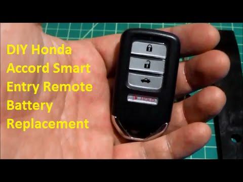 DIY Honda Smart Entry Key Remote Battery Replacement -DiyCarModz