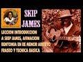 Leccion Introduccion A Skip James Afinacion Bentonia En Re M