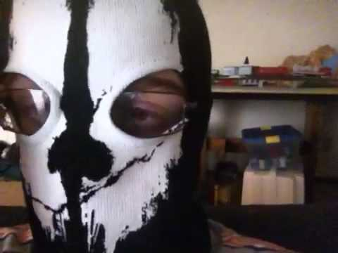 Vlog #26 Ghost mask