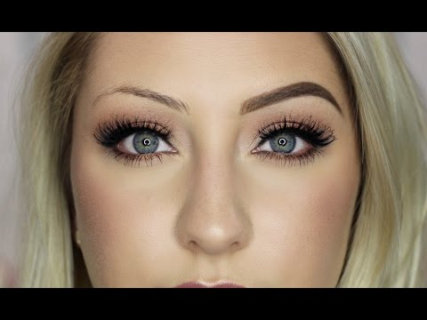 EYEBROW TUTORIAL | How to fill in sparse brows | GLAMNANNE