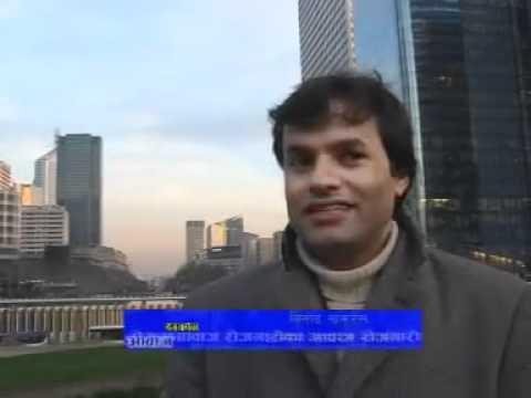 Nepali in France & in Europe - part 2, Documentry Nepal TV 2012 - Binod Khakurel