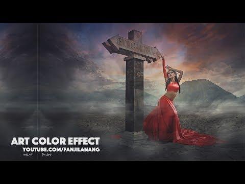 How to Make Dramatic Photo Fantasy ART Effect | Photoshop CC Tutorial