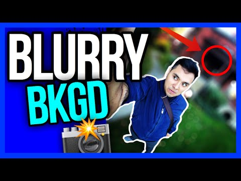 How To Make A Picture With Blurry Background | Picture out of focus | Tadaa App Tutorial