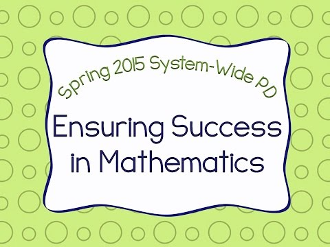 Cumberland County Schools - February 2015 System-Wide PD