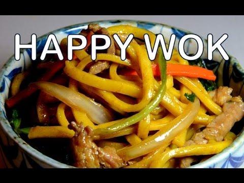 上海豬肉麵條 Stir Fry: Shanghai Fried Noodles with Pork