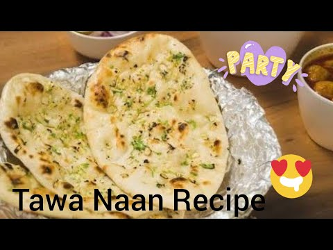 How to knead flour for Naan & Laccha paratha | Flat Bread recipe | How to make naan at home on tawa