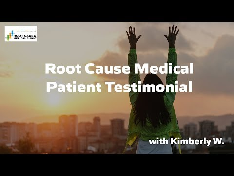 Kimberly W, Patient Testimonial at Root Cause Medical
