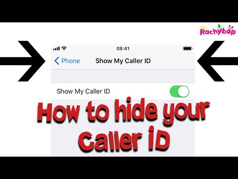 How to hide your caller ID on iPhone!
