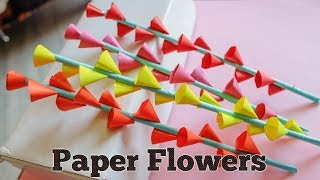 Srujana tv videos paper flowers paper flowers this video explains how to make mightylinksfo