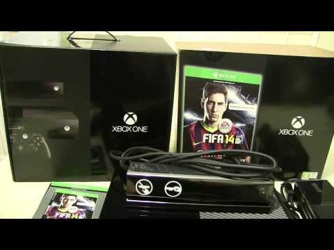 Xbox One FIFA 14 day one edition (UK retail) unboxed