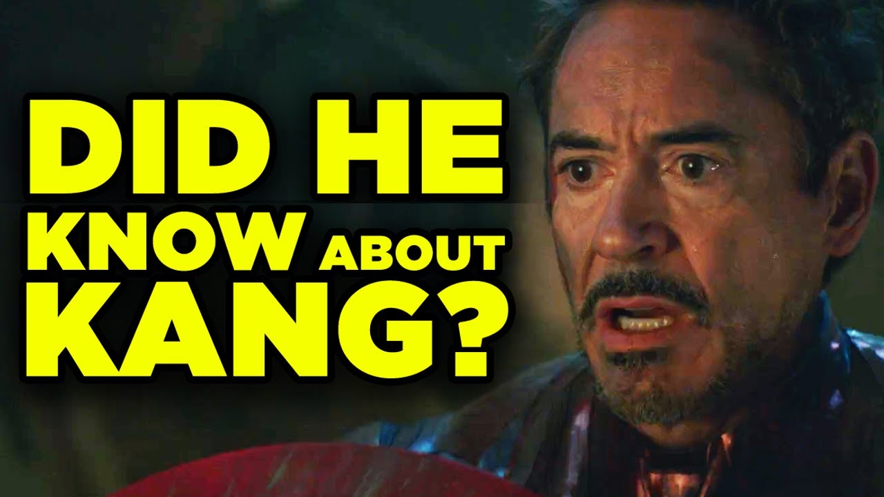 Avengers Endgame New Clue! Did Iron Man Know About Kang?