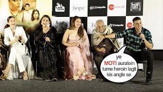 Back 2 Back Hilarious Funny Moment | Mission Mangal Trailer Launch | Akshay Kumar,Vidya,Sonakshi