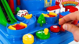 Best Car Toy Learning Video for Toddlers - Preschool Educational Toy Vehicle Puzzle!