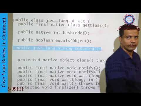 Java.lang Package | Object Class Methods | HashCode | Equals | toString  Method in Java