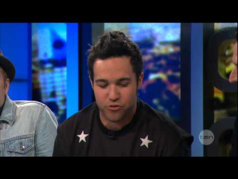 Patrick Stump & Pete Wentz interview on The Project (2013) - Fall Out Boy