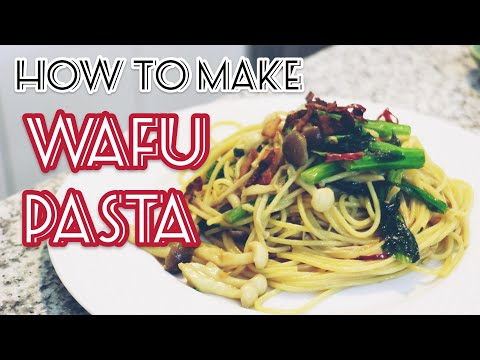 How to Make Wafu Pasta (Japanese-style Pasta) Recipe by CozyBogie