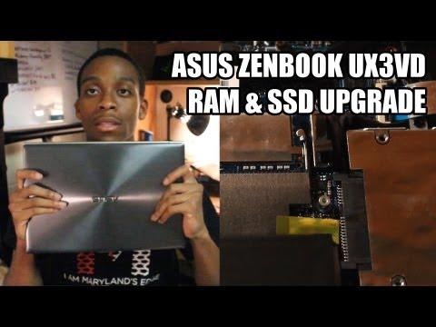 Asus Zenbook Prime: SSD & RAM Upgrade!
