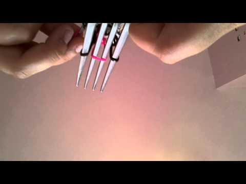 How to make a triple single bracelet on two forks! ;)