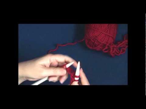 Knit Stitch - Continental