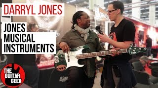 Darryl Jones From The Rolling Stones With The Guitar Geek - Musikmesse 2018