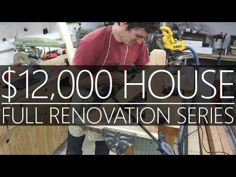 $12,000 CASH House - Roof Brackets & Shop Tour #25