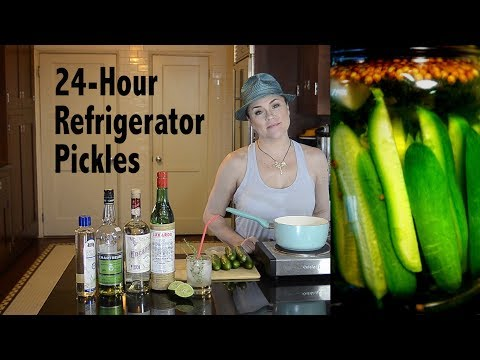 DDD Ep. 40 - Easy 24-Hour Refrigerator Pickles