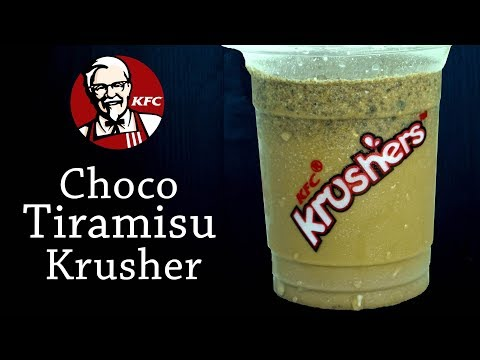 Make Tiramisu Krusher like KFC at home| Tiramisu Shake | Yummylicious