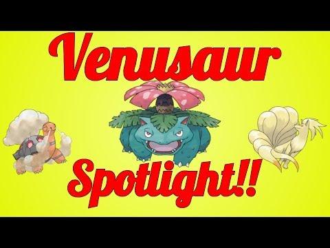 Venusaur Showdown Spotlight!!!