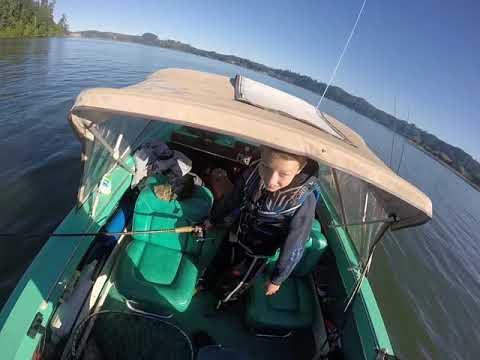 Umpqua River Fall HOGS Kid Style