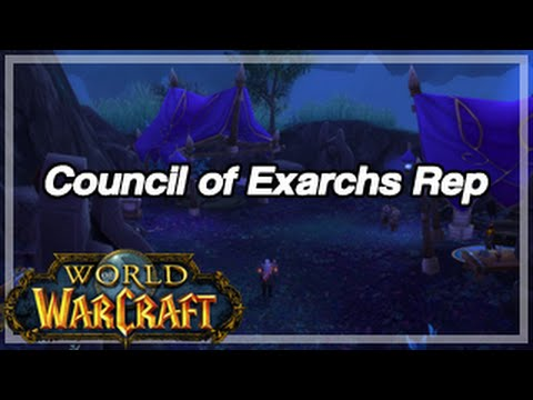 [World of Warcraft] Fastest way to get exalted with Council of Exarchs