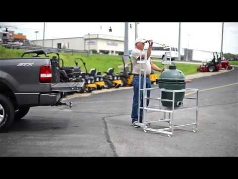 Rolling Smoker - Grill Cart Break Down