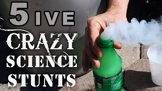 5 Crazy Science Stunts You Can
