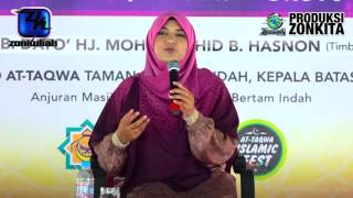 [tazkirah]jasa Terbesar Seorang Ibu - Ustazah Norlaili Aniza