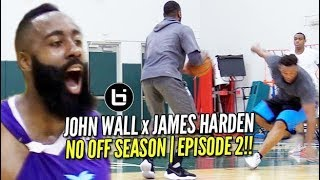 John Wall ALL ACCESS at Miami Pro League with James Harden! | NO OFFSEASON | episode 2