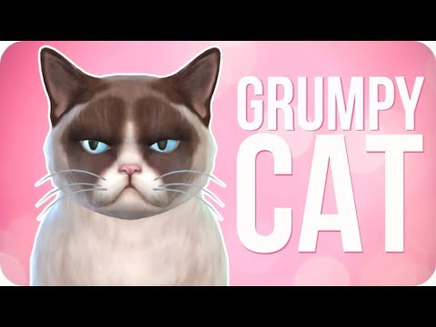 GRUMPY CAT - Create A Pet | Sims 4 Cats and Dogs