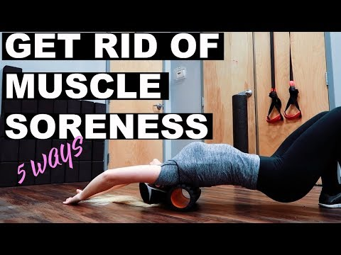 HOW TO RECOVER FROM or PREVENT SORE MUSCLES! | 5 TIPS