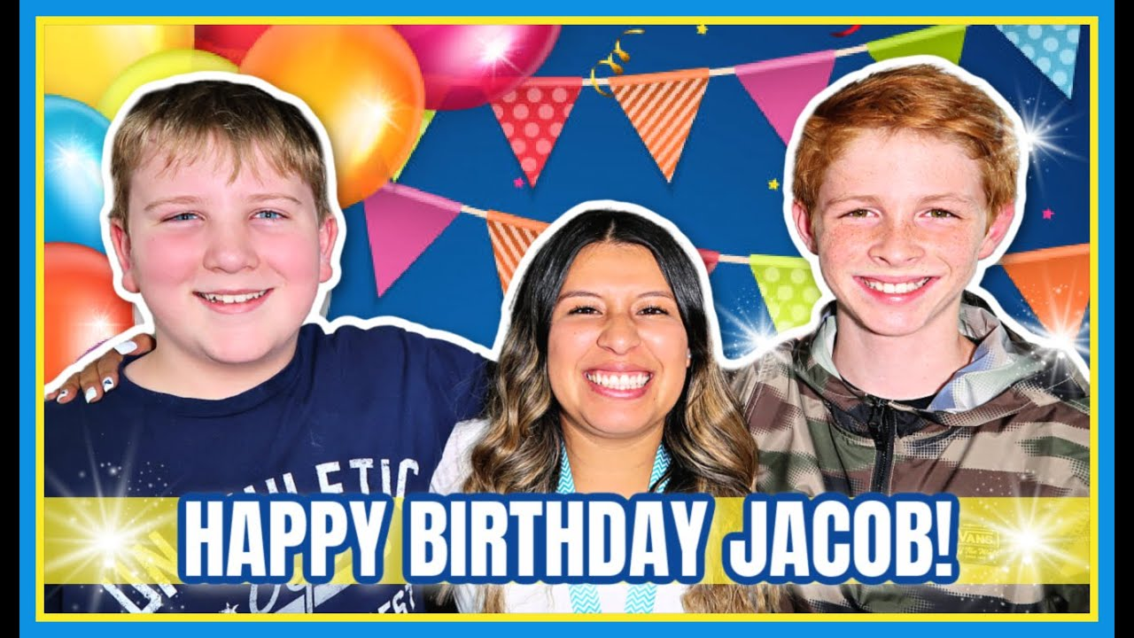 Jacob's Birthday Special! | She Did It! | We Are So Proud Of Her!