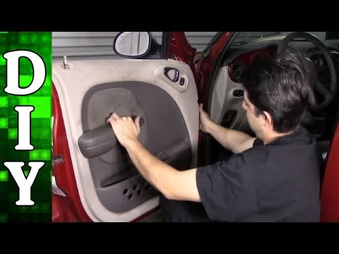 How to Replace a Window Regulator and Motor - Chrysler PT Cruiser