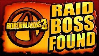 Download BORDERLANDS 3 - RAID BOSS FOUND! Mystery Boss SOLVED! Video