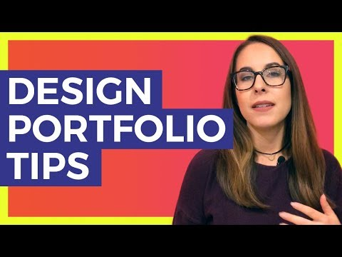 Design Portfolio Website Tips