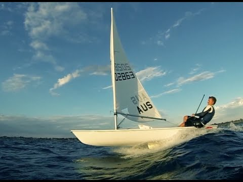 Extreme Laser sailing with Jeremy O'Connell