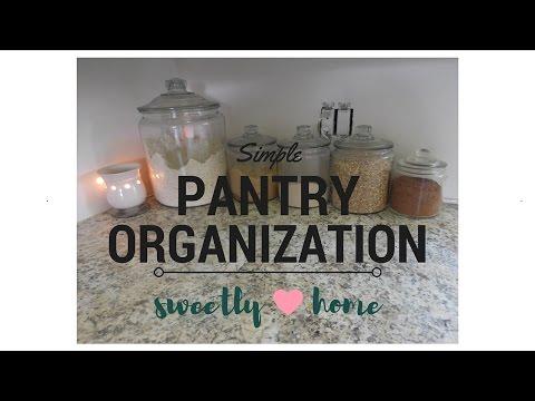 OUR PANTRY ORGANIZATION | Simple | Deep Shelves
