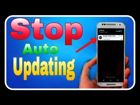 How to turn off automatic app updates on Android and install apps , in Hindi