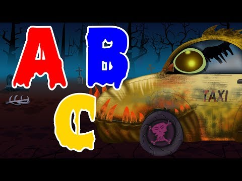 Scary Taxi | Learn Alphabets A to Z | Video for Children and Babies