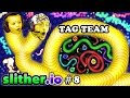 SLITHERio 8 EAT MY DOTS QUICK Father Son Tag Team FGTEEV Duddy Chase Multiplayer Server